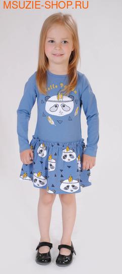 Флер де Ви платье. 104 серо-голубой ростПлатья <br><br>