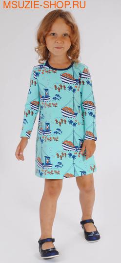 Милашка Сьюзи платье. 104 бирюзовый ростПлатья <br><br>