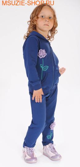Милашка Сьюзи куртка+брюки. 104 синий ростКомплекты<br><br>