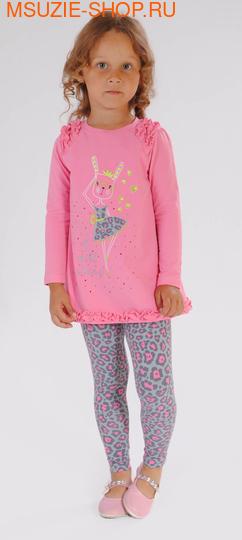 Милашка Сьюзи туника+лосины. 104 ярко-розовый ростКомплекты<br><br>