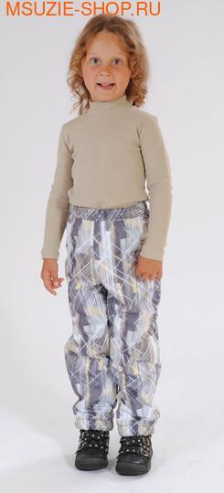 Милашка Сьюзи брюки. 110 светло-серый ростВесна-лето<br><br>
