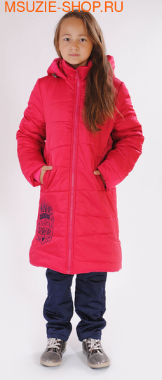 Милашка Сьюзи пальто (ЗИМА). 134 малиновый ростВерхняя одежда<br><br>