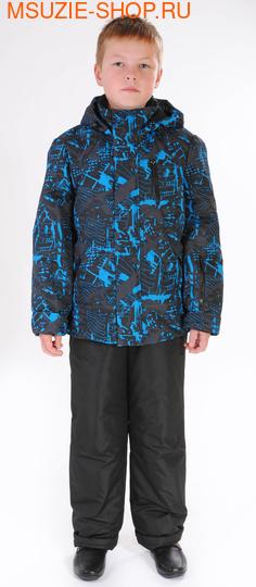 Милашка Сьюзи куртка+п/комбинезон (ЗИМА). 128 бирюзовый ростЗима <br><br>