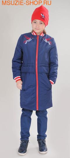Милашка Сьюзи пальто (ОСЕНЬ). 128 синий ростВесна-осень<br><br>