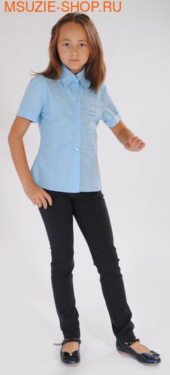 Милашка Сьюзи блузка. 128 голубой ростБлузки<br><br>