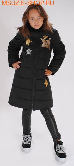Милашка Сьюзи пальто (ЗИМА). 134 черный ростЗима<br><br>