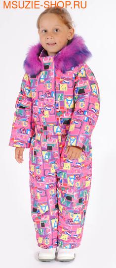 Милашка Сьюзи комбинезон (ЗИМА). 104 ярко- розовый ростЗима<br><br>