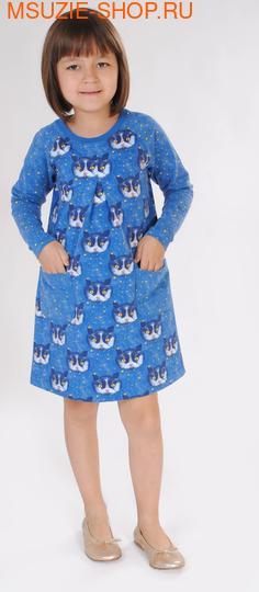 Флер де Ви платье. 104 васильковый ростПлатья <br><br>