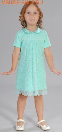 Флер де Ви платье. 92 св. зеленый ростНарядные платья <br><br>