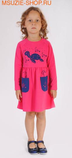 Милашка Сьюзи платье. 104 фуксия ростПлатья <br><br>