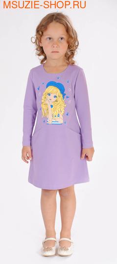 Милашка Сьюзи платье. 104 сиреневый ростПлатья <br><br>