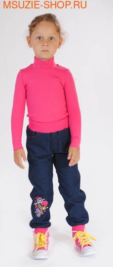 Милашка Сьюзи брюки на флисе. 92 синий ростБрюки, юбки  <br><br>