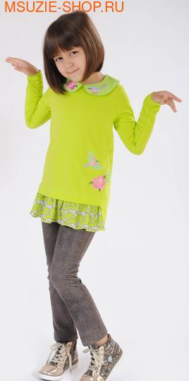Милашка Сьюзи туника. 104 салатовый ростДжемпера, рубашки, кофты<br><br>