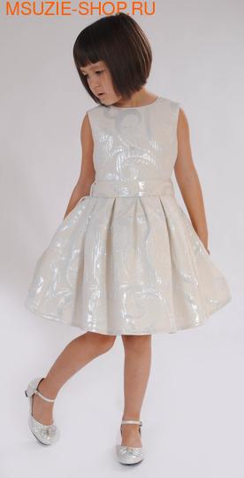 Милашка Сьюзи платье. 104 молочный ростНарядные платья <br><br>