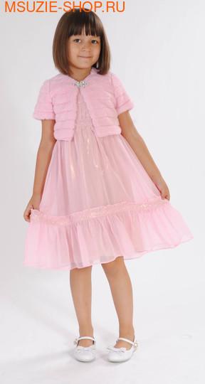 Милашка Сьюзи платье+болеро. 110 розовый рост