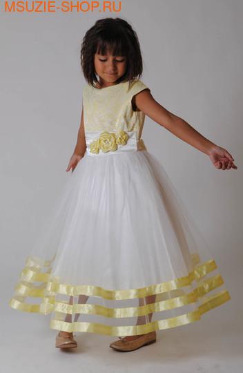Милашка Сьюзи платье. 110 св. желтый ростНарядные платья <br><br>