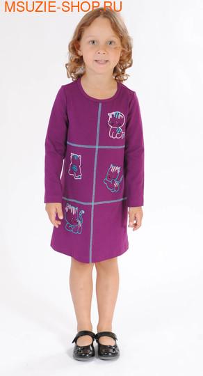 Флер де Ви платье. 104 фиолетовый ростПлатья <br><br>