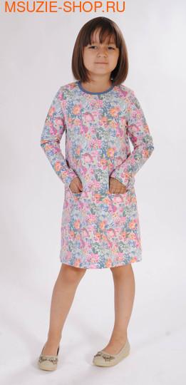Милашка Сьюзи платье. 104 светло- серый ростНовинки<br><br>