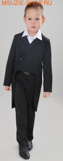 Флер де Ви фрак+брюки+бабочка. 104 черный ростНовинки<br><br>