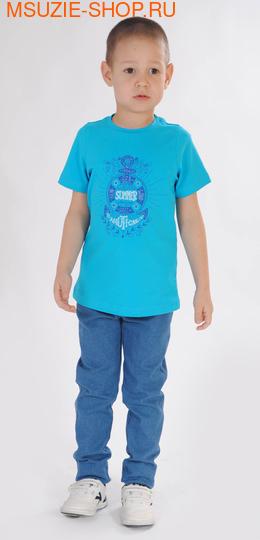 Милашка Сьюзи футболка. 104 бирюзовый ростДжемпера, рубашки, кофты<br><br>