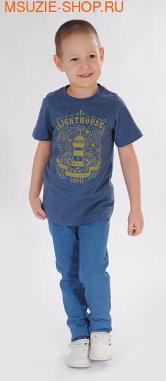 Милашка Сьюзи футболка. 104 индиго ростДжемпера, рубашки, кофты<br><br>
