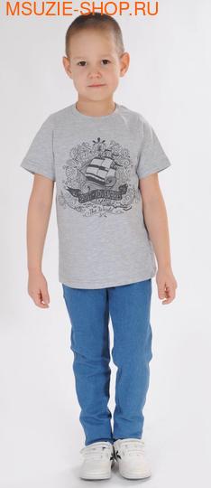 Милашка Сьюзи футболка. 104 серый ростНовинки<br><br>