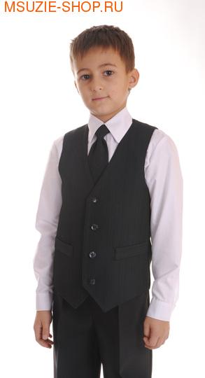 Милашка Сьюзи Жилет, галстук. 122 т.син ростШкольная форма<br>тем. синий  виск.32 п/э 65 эл.3<br>