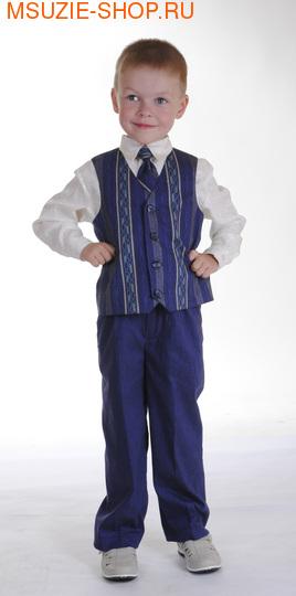 Милашка Сьюзи жилет,рубашка,брюки,галстук. 104 ростнарядная одежда<br>92-128  1760-1920 рублей<br>