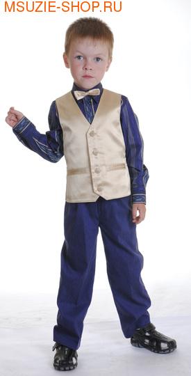 Милашка Сьюзи жилет,рубашка,брюки,бабочка. 104 ростнарядная одежда<br>роста 92-128<br>