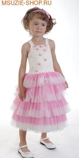 Милашка Сьюзи платье. 104 голуб ростнарядная одежда<br>цвета роз, сирень<br>
