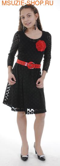 Милашка Сьюзи платье, ремень, цветок. платье+ рост ок+ремень размер 40нарядная одежда<br><br>