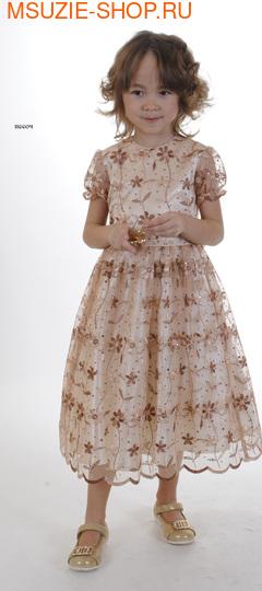 Милашка Сьюзи платье. 110 желтый ростНарядные платья <br><br>