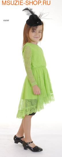 Милашка Сьюзи платье,лосины,шляпка. платье+шляпка 110 салат ростнарядная одежда<br><br>