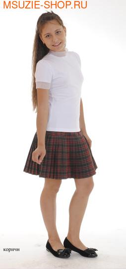 Милашка Сьюзи юбка-плиссе. 140 серый ростЮбки/брюки <br><br>