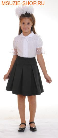 Милашка Сьюзи юбка. 134 серый ростЮбки/брюки <br><br>