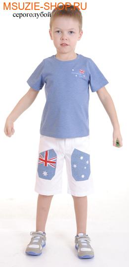 Милашка Сьюзи футболка,шорты. 104 индиго меланж ростновинки<br><br>