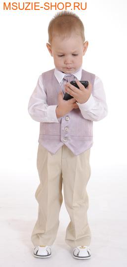 Милашка Сьюзи жилет+рубашка+галстук. 104 ростнарядная одежда<br><br>