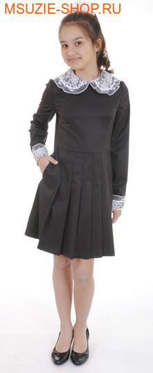 Милашка Сьюзи платье+воротник+манжеты. 122 коричневый ростновинки<br><br>