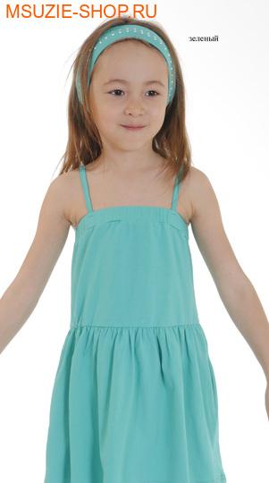 Милашка Сьюзи повязка. повязка размер 110-134 зеленый ростГоловные уборы,варежки,перчатки <br><br>