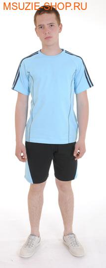 Милашка Сьюзи футболка+шорты. 122 голубой ростСпортивная форма. <br><br>