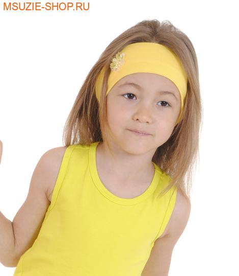 Милашка Сьюзи повязка. 110-134 желтый ростГоловные уборы,варежки,перчатки <br><br>