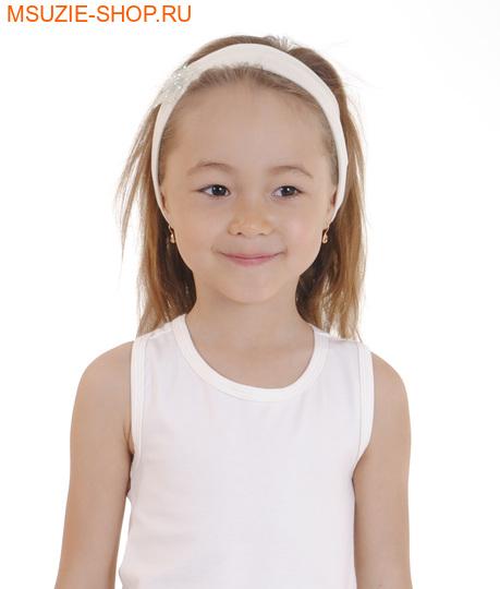 Милашка Сьюзи повязка. 110-134 молочный ростГоловные уборы,варежки,перчатки <br><br>