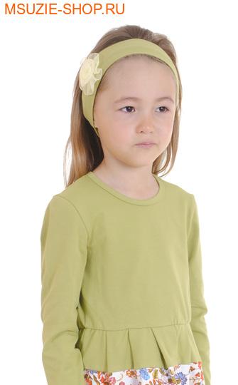 Милашка Сьюзи повязка. 110-134 св.хаки ростГоловные уборы,варежки,перчатки <br><br>