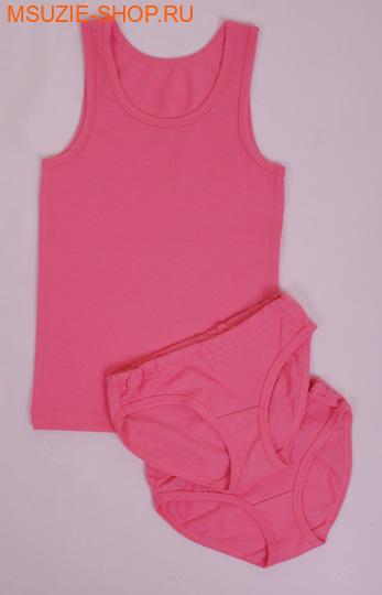 Милашка Сьюзи майка+трусы 2 шт. 104 ярк.розовый ростНижнее белье<br><br>