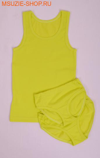 Милашка Сьюзи майка+трусы 2 шт. 104 лимон ростНижнее белье<br><br>