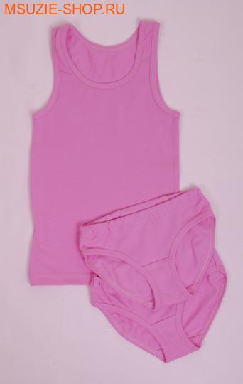 Милашка Сьюзи майка+трусы 2 шт. 104 розовый ростНижнее белье<br><br>