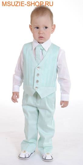 Милашка Сьюзи жилет+сорочка+галстук. 104 ростнарядная одежда<br><br>