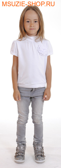 Милашка Сьюзи блузка. 104 белый ростДжемпера, рубашки, кофты<br><br>