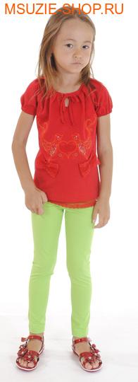 Милашка Сьюзи блузка. 104 красный ростДжемпера, рубашки, кофты<br><br>