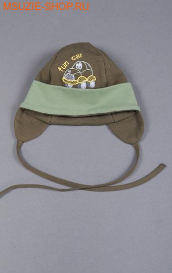 Милашка Сьюзи шапка. 62  хаки ростГоловные уборы,варежки,перчатки <br><br>